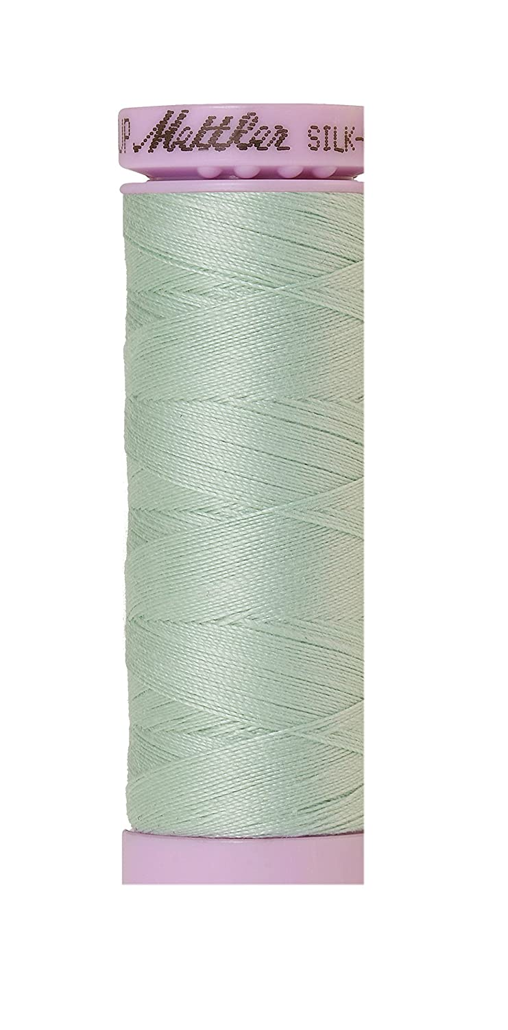 Mettler Silk-Finish Solid Cotton Thread, 164 yd/150m, Snowmoon by Mettler   B00PKJHJFU