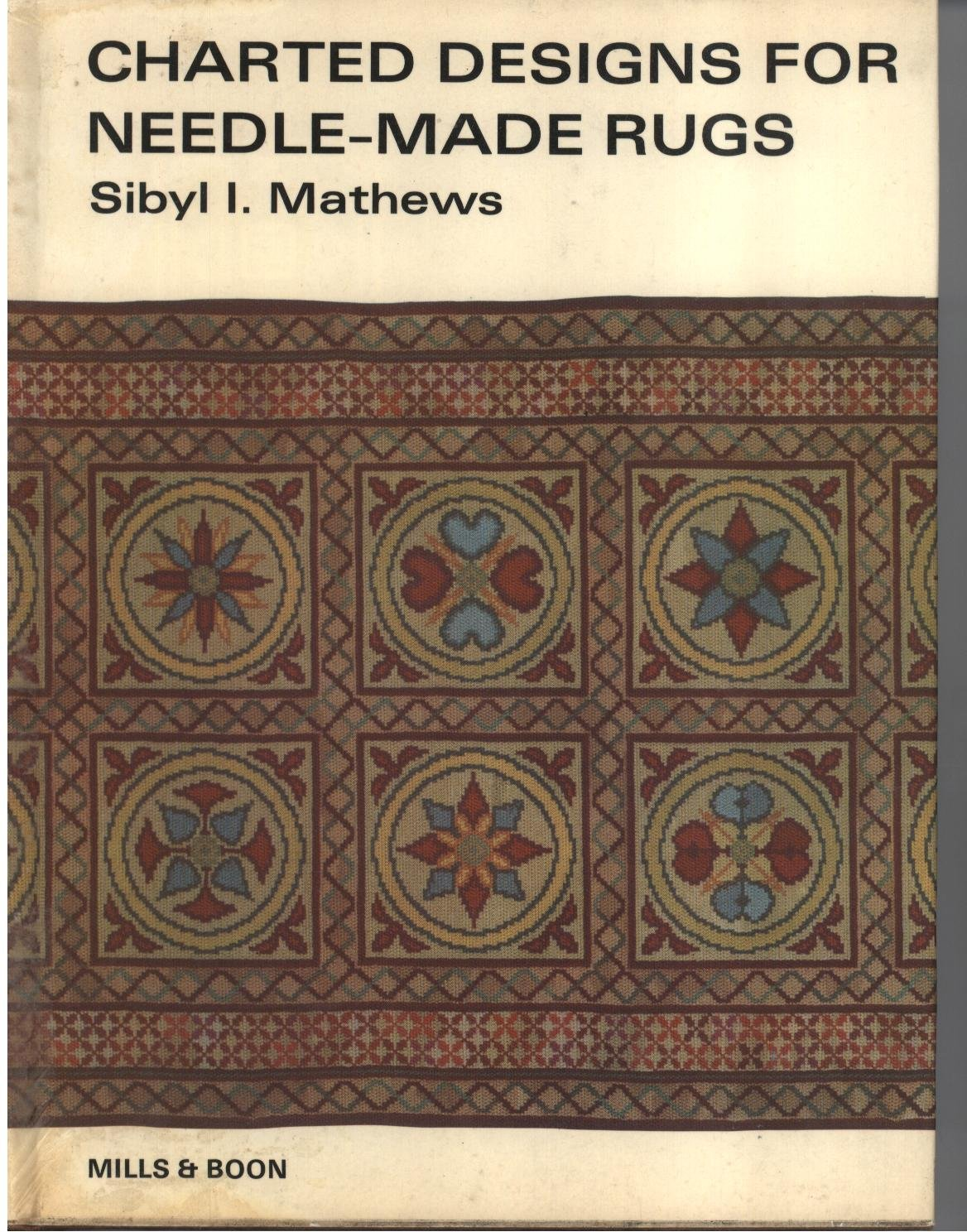 Charted Designs For Needle-made Rugs.