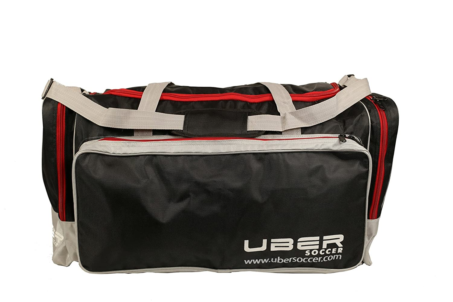 uBer Soccer Team Issue PlayerスポーツDuffle bag-gymバッグ B00U9YZNM2 Large|クラブ Large