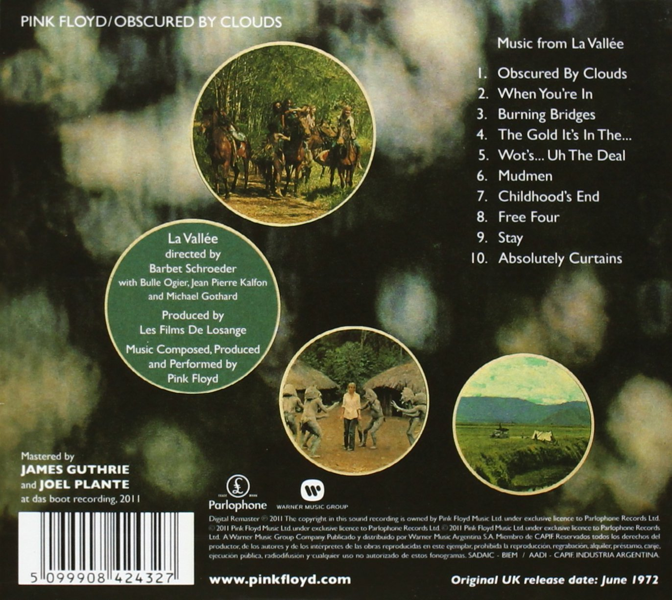 Obscured By Clouds Discovery Version