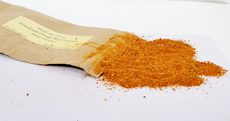 Ayurvedic Himalayan Orange Peel Powder (Set of 2) I Face Mask I Pigmentation I Blemish I Rejuvenation I Beauty I Glow woods and petals