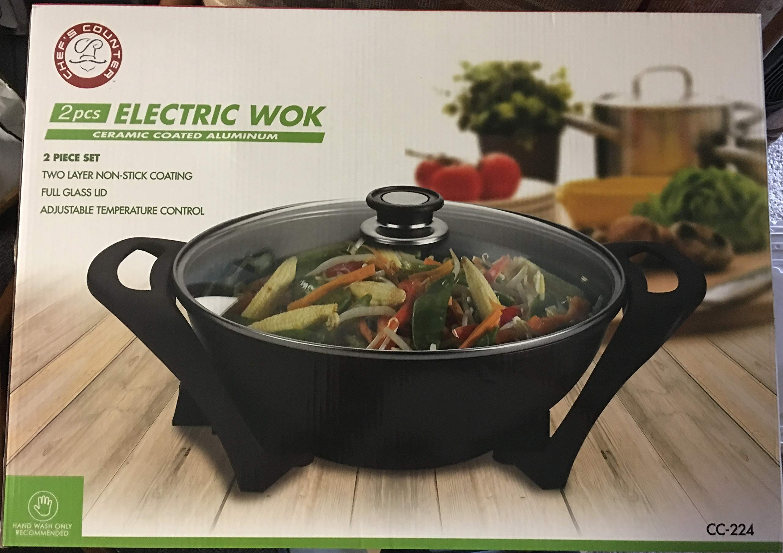 Chef's Counter Electric Wok by Chef's Counter