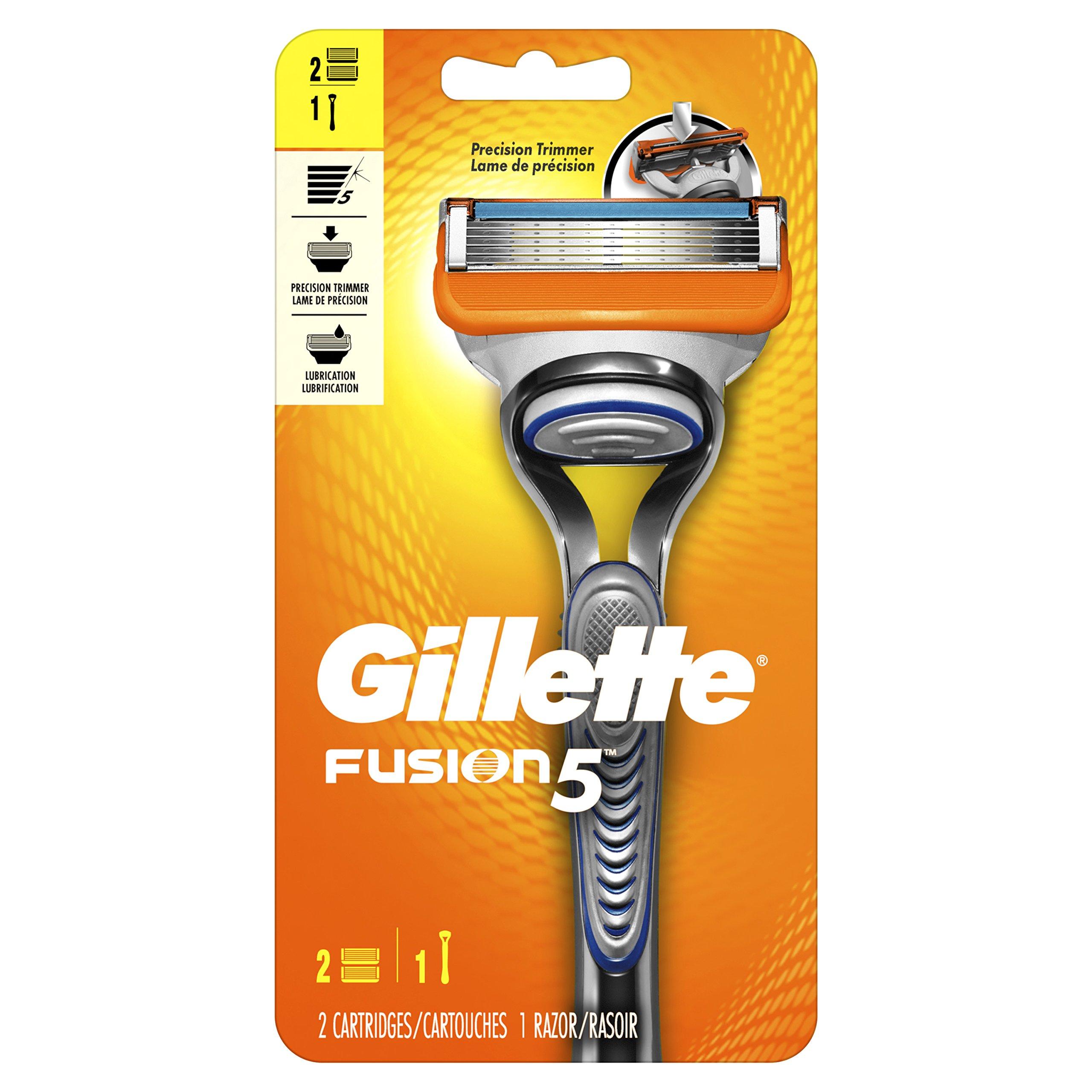 Amazon.com: Gillette Fusion Manual Men's Razor Blade ...