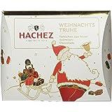 Hachez Weihnachts-Truhe Feine Vollmilch-Täfelchen, 2er Pack (2 x 150 g)