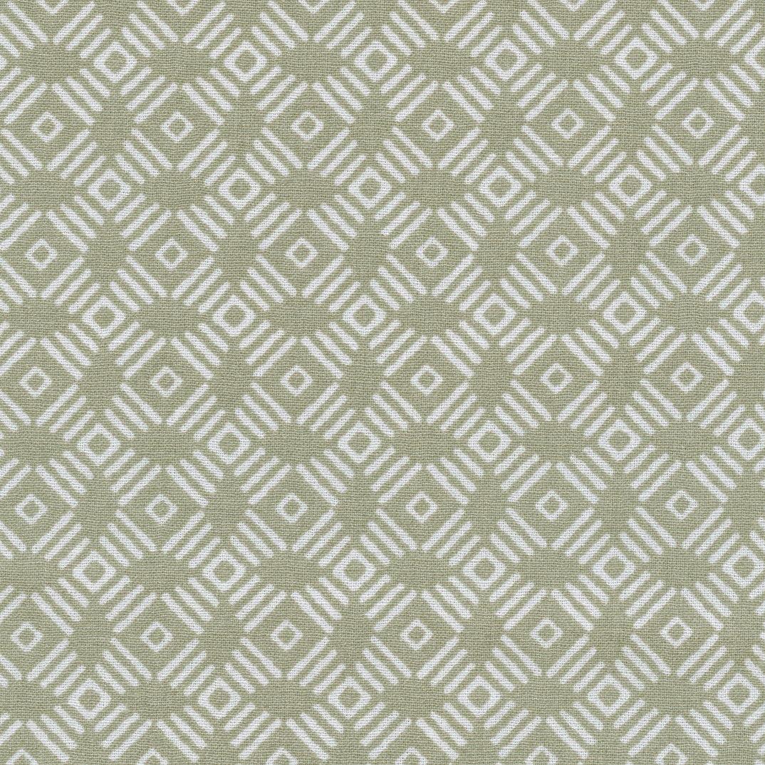 Tela ZETA (beige arena & blanco) - 100% algodón suave | ancho: 140 ...