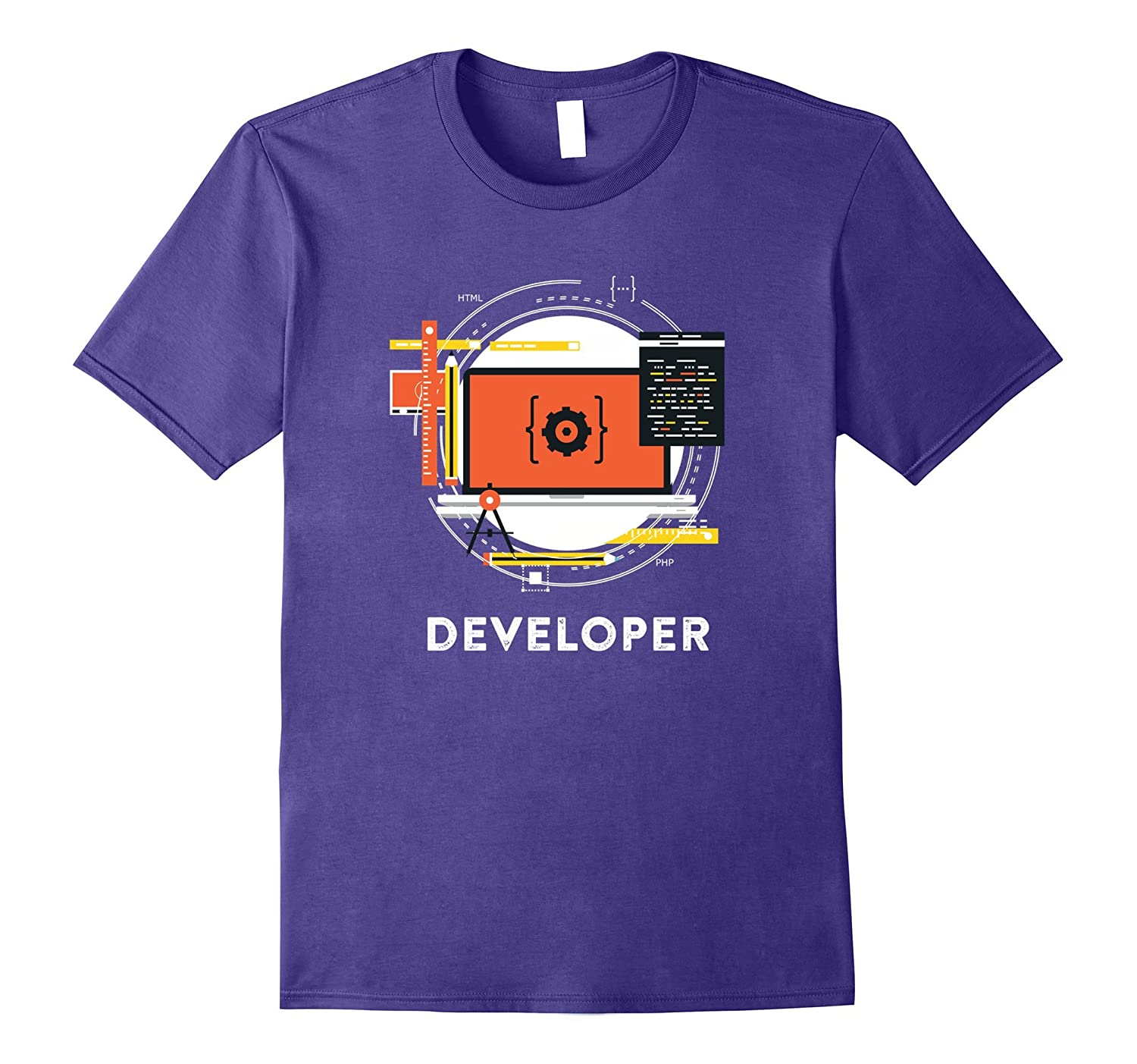 App Software Developer Web TShirt-TJ
