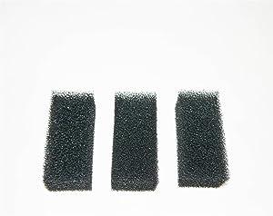 Hidom 3 x Internal Aquarium Filter Replacement Sponge Foam - For AP-1000L