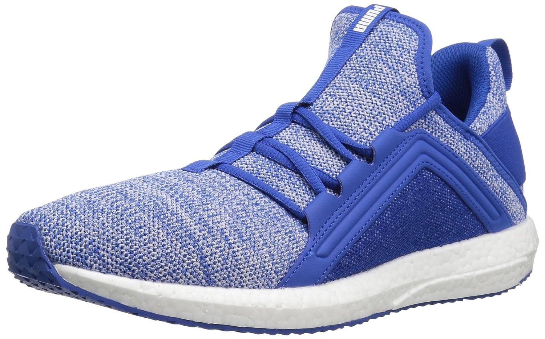 Puma Herren Mega NGRY Knit Sportschuhe Blau/Weiß 39