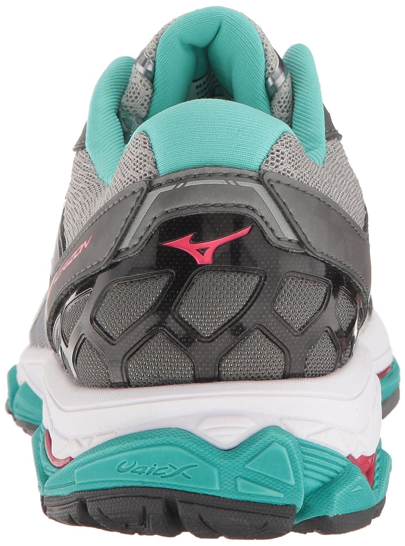 Mizuno Women's Wave Horizon Running Shoe B01H3EE9SE 8.5 B(M) US Silver/Pink