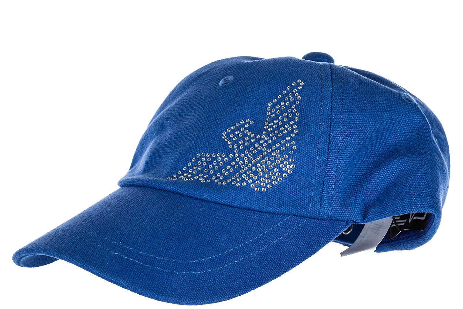 Emporio Armani EA7 adjustable women's hat baseball cap train evolution blu US size UNI 2855598P51310433