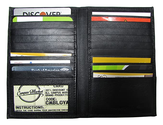Funda para Tarjetas de crédito, para Hombre, Piel auténtica, Color Negro: Amazon.es: Ropa y accesorios