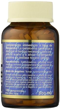 TONG-IL - MELATONINA 1mg 180comp ESTADO PURO: Amazon.es: Salud y cuidado personal