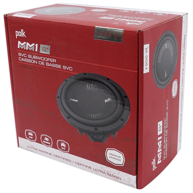 "Amazon.com: Polk Audio MM842SVC 8"" 900 Watt SVC 4-Ohm Car/Marine ..."
