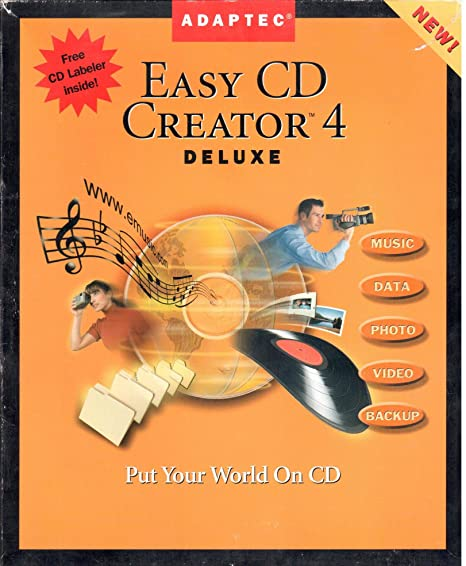 ADAPTEC EASY CD CREATOR DRIVER DOWNLOAD FREE