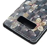 Galaxy Note 8 Case, SAVYOU 3D Pattern Card Slot