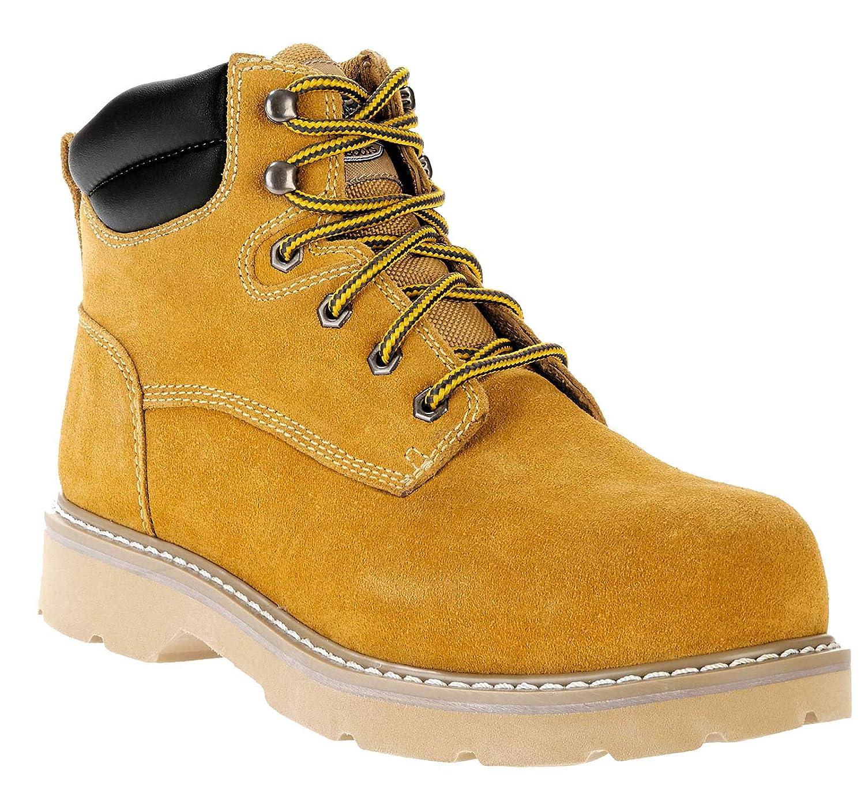 1757416c3ff Herman Survivor Wheat Bravo ll Men's Suede Leather Work Boots (7 US ...
