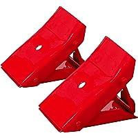 Torin Big Red Steel Calzo para Rueda de Seguridad: tapón de neumático Plegable, 1 par
