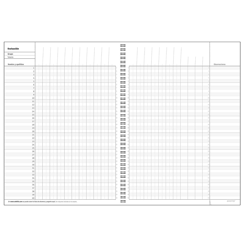 Additio P222 - Cuaderno de todas las clases, Varios colores