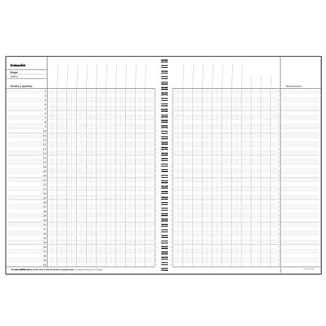 Additio P222 - Cuaderno de todas las clases, color naranja: Amazon.es: Oficina y papelería