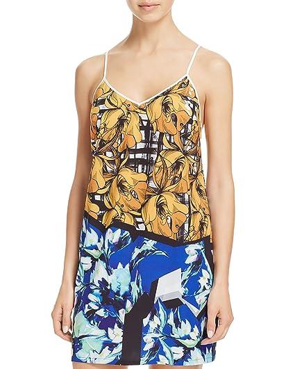 2e064e7e30c Amazon.com  Clover Canyon Womens Floral Sleeveless Nightie  Clothing
