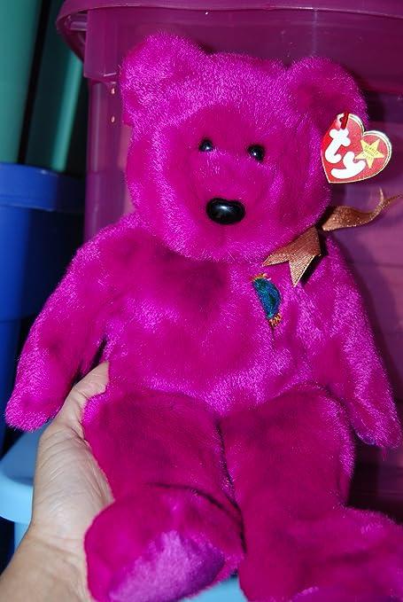 c6226d4b64a Amazon.com  Ty Beanie Buddies Millennium - Bear  Toys   Games