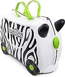 Trunki Children's Ride-On Suitcase: Zimba Zebra (White)