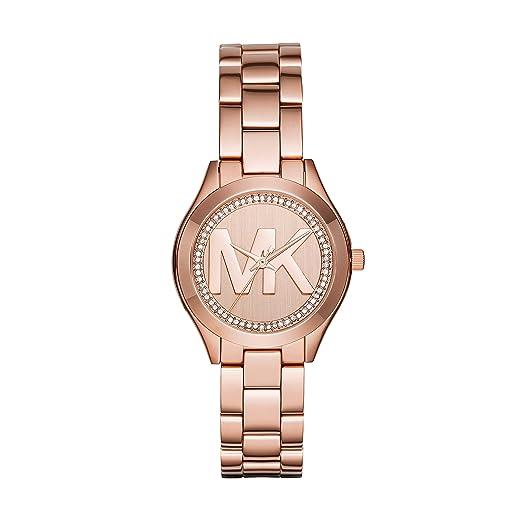 Michael Kors Reloj Analógico para Mujer de Cuarzo con Correa en Acero Inoxidable MK3549: Amazon.es: Relojes