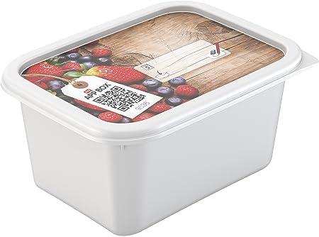 Arcón congelador Conjunto rotho amb Domino Conjunto de 4 0,75 l ...