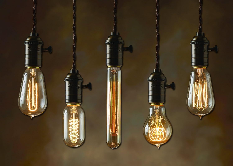 Giant Light Bulb Lamp Bulbrite Nos40 1910 134019 40 Watt Nostalgic Edison Squirrel Cage