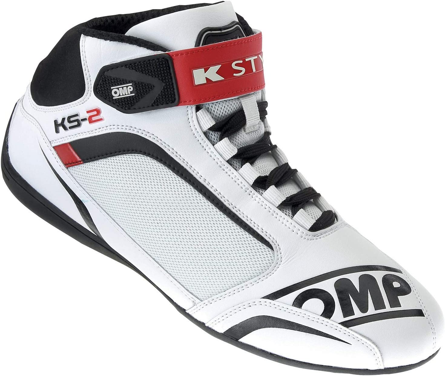 White//Black//red Talla 44 OMP OMPIC//81212044 Sneaker