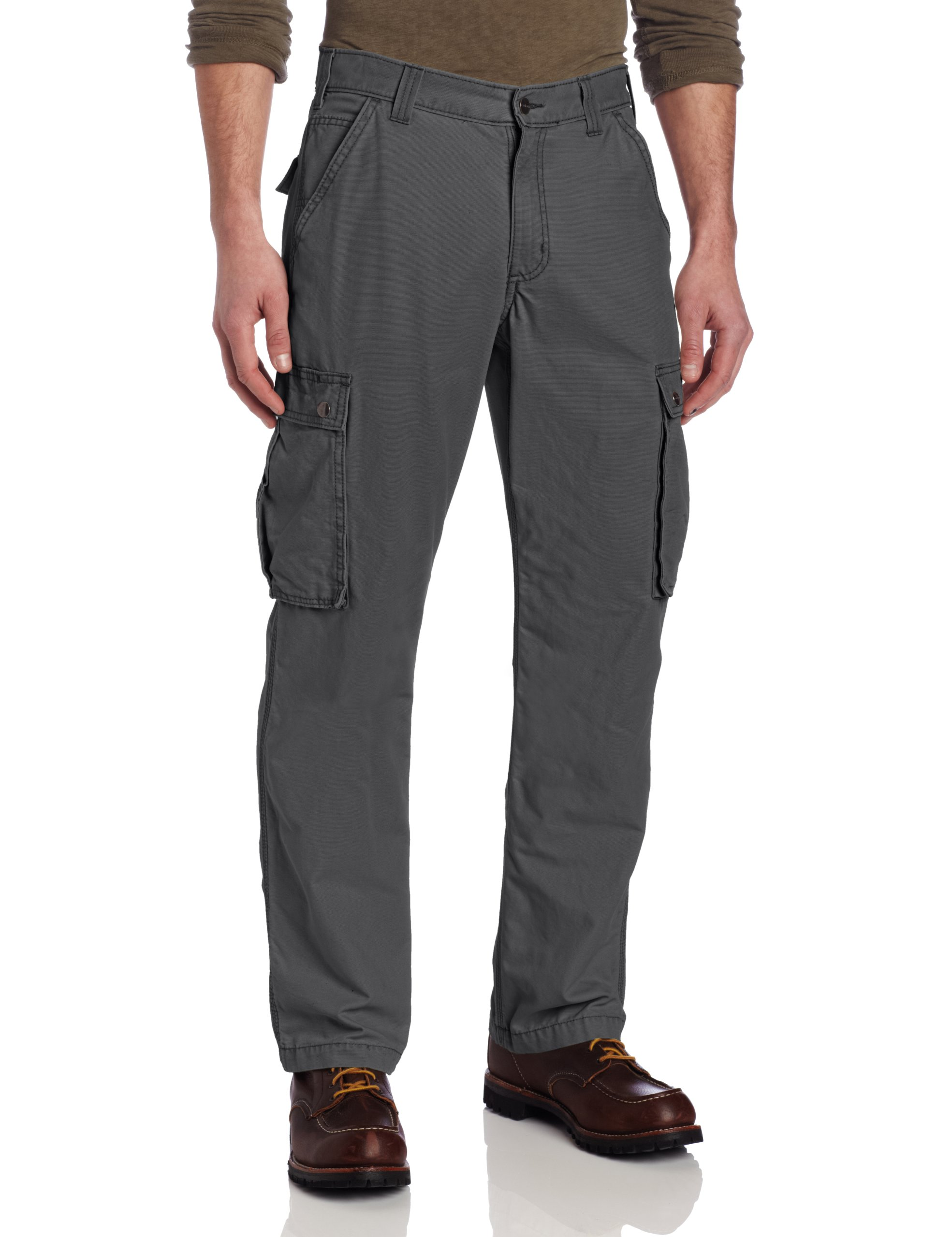 Carhartt Men's Rugged Cargo Pant Relaxed Fit,Gravel,36W x 32L