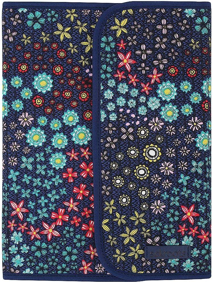 Sakroots Artist Circle Freemont Folio (Navy Floral Spirit)