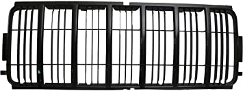 Grille Shell for Jeep Liberty 02-04 Black