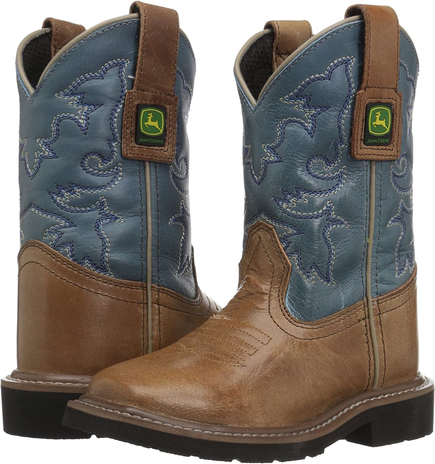 John Deere Kids JD2556 Western Boot