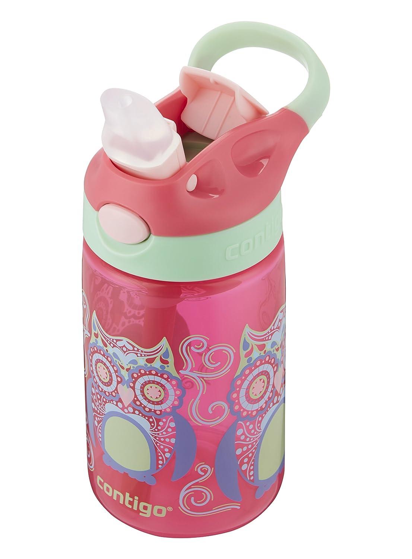 Amazon.com: Contigo 2004943 Water Bottle, 14 oz, Sprinkles with Owl ...