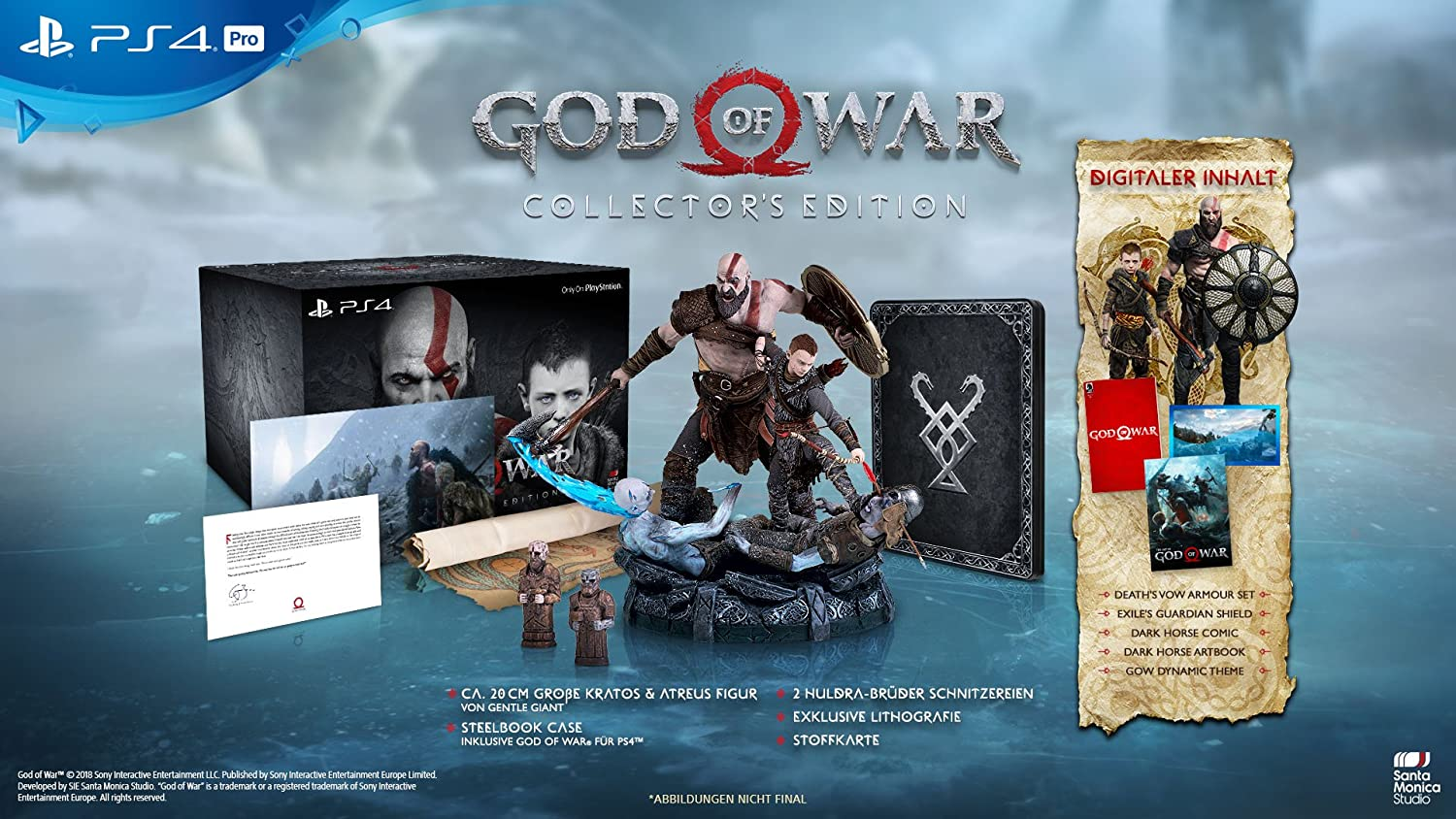 God of War Collector s Edition [PlayStation 4] Amazon Games