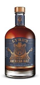 Lyre's American Malt Non-Alcoholic Spirit - Bourbon Style | Award Winning | 23.7 Fl Oz
