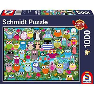 Schmidt Spiele Owl Collage II Jigsaw Puzzle: Toys & Games