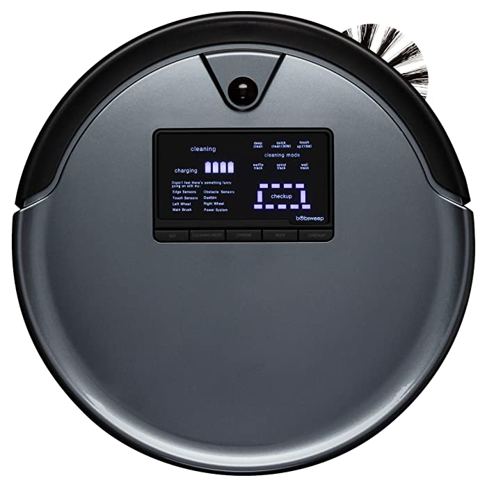 The Best Bobsweep Pethair Robotic Vacuum Cleaner And Mop Junior