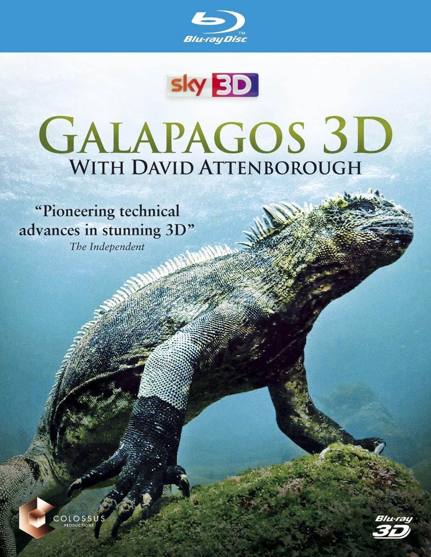 Galapagos 3D with Sir David Attenborough [Blu-ray 3D]