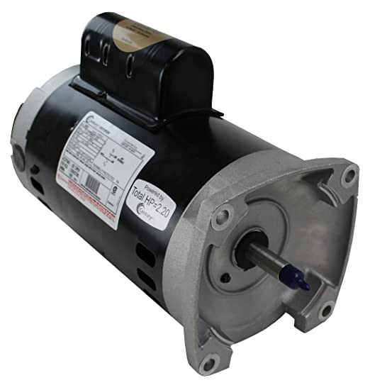 amazon com century electric b854 1 1 2 horsepower 56y frame up amazon com century electric b854 1 1 2 horsepower 56y frame up rated square flange replacement motor formerly a o smith swimming pool pump