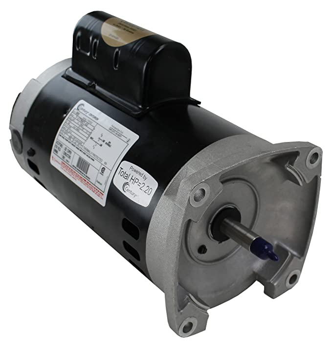Century Electric B855 2-Horsepower 56Y-Frame Up-Rated Square Flange on
