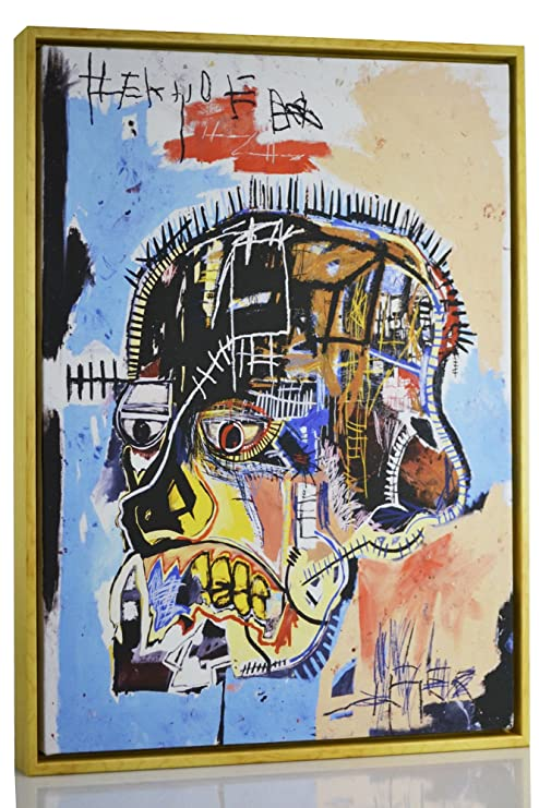 Jean Michel Basquiat Bird On Money Giclee Art Paper Print Poster Reproduction