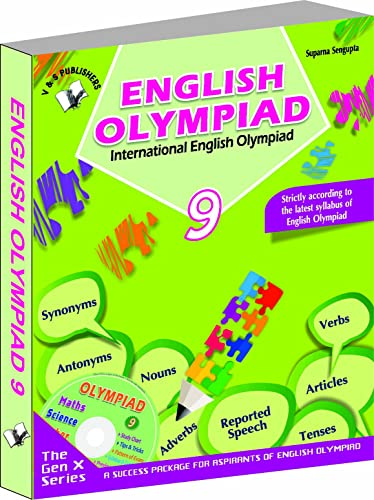 International English Olympiad - Class 9  with CD: Essential Principles with Examples; Mcqs and Solutions; Model Test Papers
