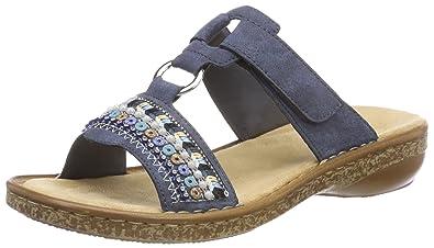 Rieker Damen 628m6 Pantoletten  Rieker  Amazon.de  Schuhe   Handtaschen 433f6dfeac