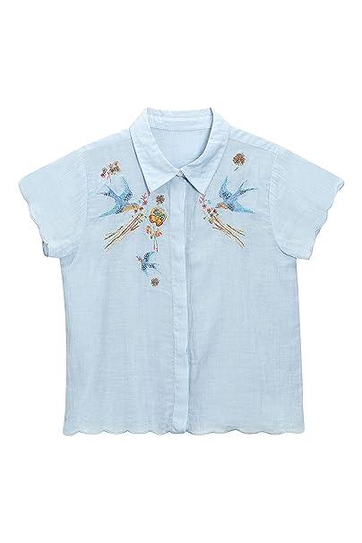 next Niñas Blusa Decorada Top Ropa Camisa 16 años