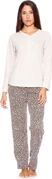 KUMY Pijama Beige L/40: Amazon.es: Ropa