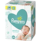 Pampers Baby Wipes Sensitive 9X Pop-Top Packs, 504 Diaper Wipes