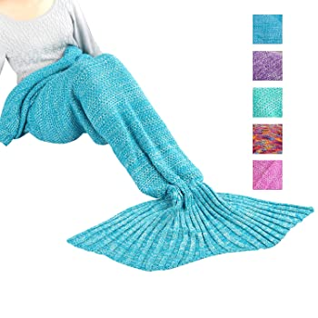 Mermaid Blanket, Handmade High Density