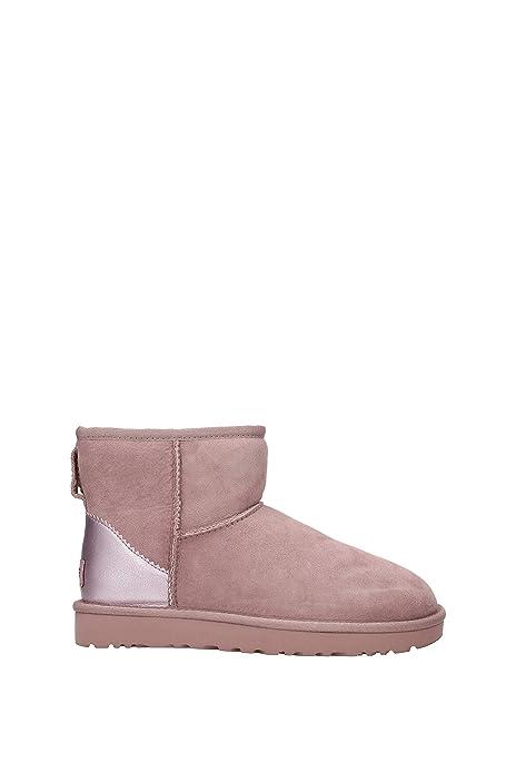 Botines UGG Water Resistant Classic Mini Mujer - Gamuza (1019029) EU: Amazon.es: Zapatos y complementos